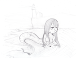 Alone on the Beach by Zerolr-RM