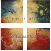 Four symbols by TeresaClark