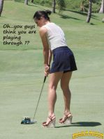 Olivia Munn golf by lowerrider