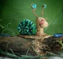 Snail by mindfullofcreatures