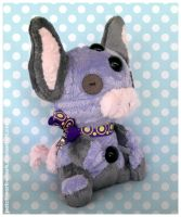 Patchwork Grumpig by Patchwork-Shark