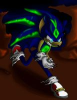 Demon Sonic by rougeTbat