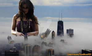 Giantess Idina Menzel Get Out Of My Way !!! by GiantessStudios101