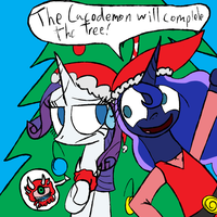 (HOLIDAY REQUEST) Bad Decoration by Deadninja21