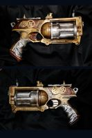 Steampunk nerfgun by Monimod