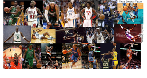 My All-Time NBA Dream Team by meloainene