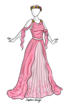 Flower Princess Dress Adoptable SOLD by Captain-Savvy