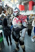 Mass Effect Blood Dragon - Debut at NYCC 2014 by eidylon