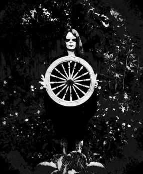 old wheel by angrazdrei
