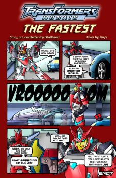 The Fastest by Transformers-Mosaic