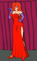 Point Commission: Jessica Rabbit by WaRrior9100