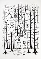 A House in the Forest by OrcOYoyo
