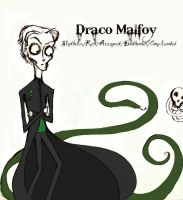 Draco Malfoy-Tim Burton Style by Pheonix-Of-The-West