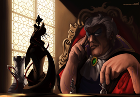 .::The Chess Player::. by NightmareGK13