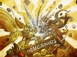 newgrounds calendar madness by jouste