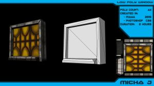 Low Poly Window by VyxisPrime