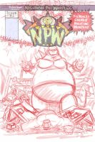 Nightmare Pro Wrestling Issue 5 begins! by JonDavidGuerra