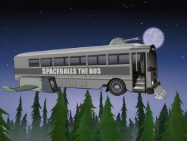 Spaceballs the bus by DarkCeltic