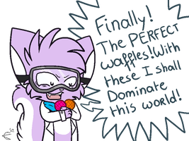 The perfect waffles by GalaxyKitteh