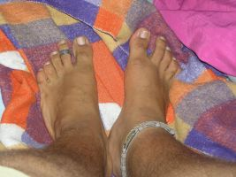 My toe ring by ltdalius