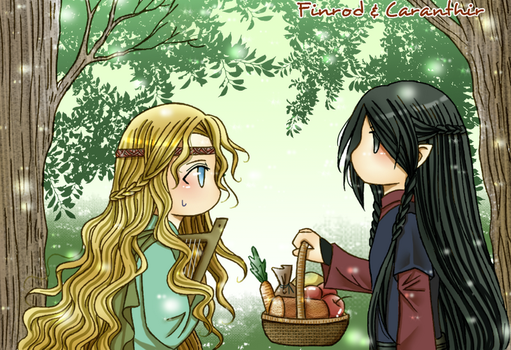 Finrod and Caranthir - Let's have a picnic by Windrelyn