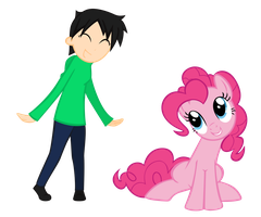 Minerva and Pinkie by alexisrose1454