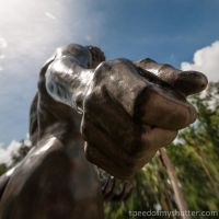 The sower's hand by speedofmyshutter