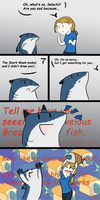 How a gift for shark should looks like? by Domisea