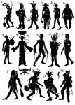Silhouettes by Ohmiii