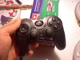 My New Gamestop ps2 Controller by darkzero779