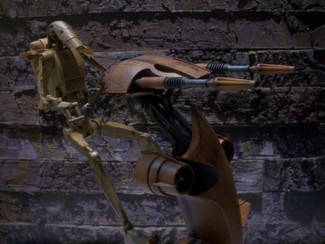 Sideshow Infantry Battle Droids And STAP 1/6 F. 3 by Minas-Tirith-Hakan