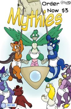 Mythies issue 9. Order now! by KelvinTheLion