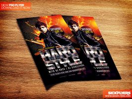HardStyle Flyer Template PSD by Industrykidz