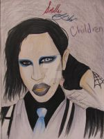 maryln manson by cartounhero26