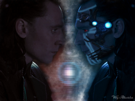 Cyber Loki by Narryaque