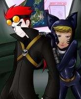 Jack and Katnappe: I Got This One :3 by The--Summoner
