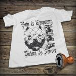 Street T-shirt - Pain is temporary by DiegoArragon