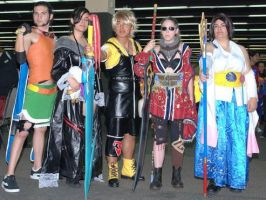 Final fantasy x group picture by Sepheroth885