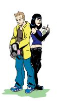 Breaking Bad- Jesse and Jane by CrimeRoyale