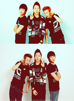 EDIT - Block B TOP 3 by chazzief