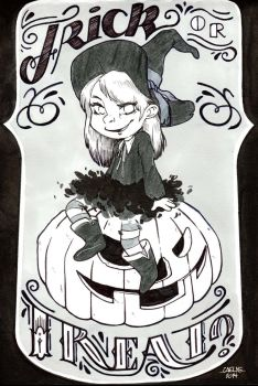 INKtober Day 22 by Caelys-illustrations