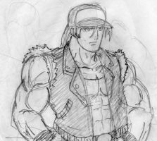 Terry Bogard by falserockman