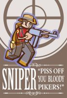 Sniper-Team Fortress 2 by Kieshar
