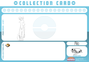MILA - Pokemon collection card by Cute-Adoptabels