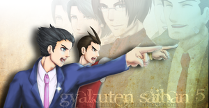 Gyakuten Saiban 5 for BlazeRepose by ingthingthings