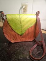 Leaf Purse 2 by Elleron77