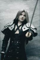 Sephiroth: The final battle 03 by scargeear