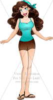 Vector OC For Sale 115 + 02/14 by LPDisney