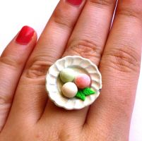Mochi Ice Cream Ring by FatallyFeminine