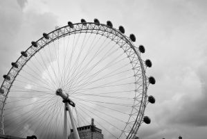 London Eye pt III by ParkBenchRuins